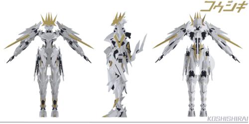 キャラクター三面図