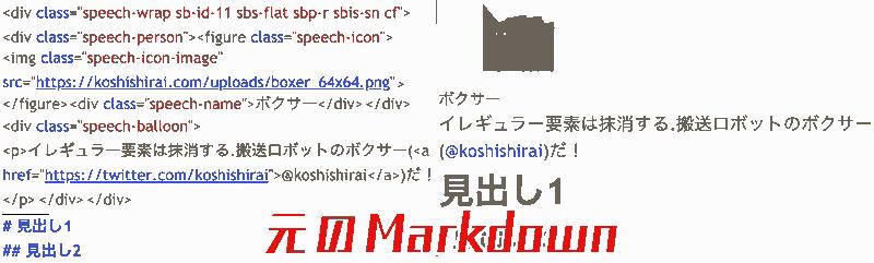 Original Markdown